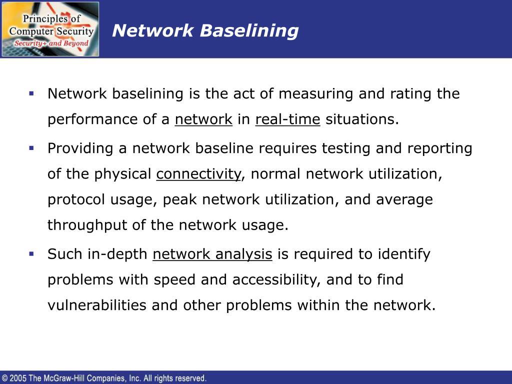 Network Baselining