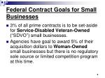 federal contract goals for small businesses9