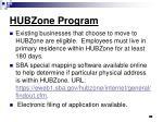 hubzone program30