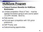 hubzone program31