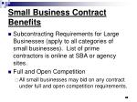 small business contract benefits42