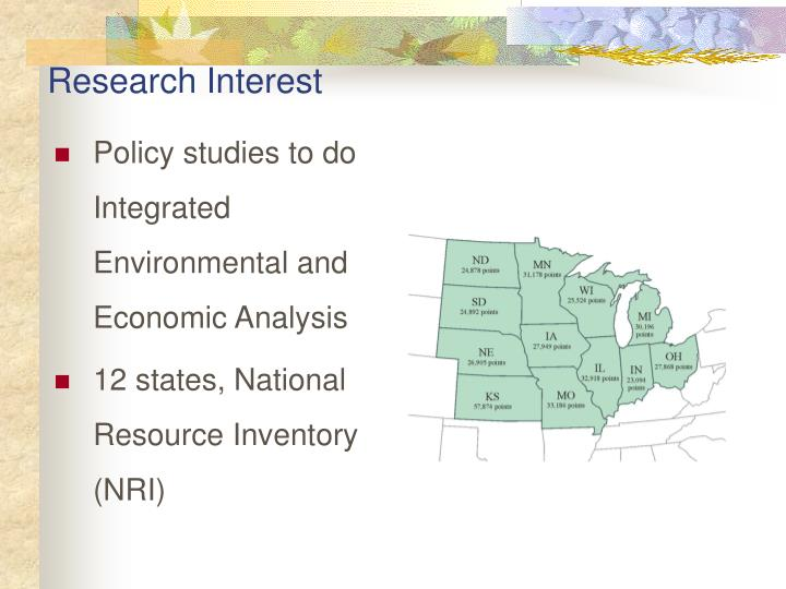 Research interest