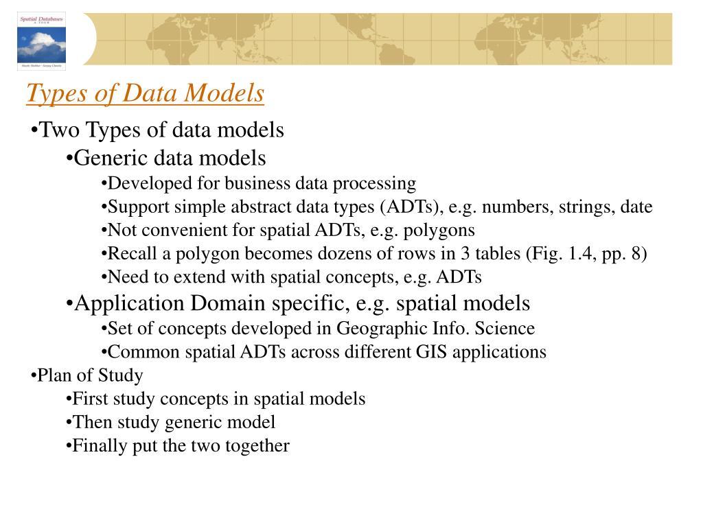 Types of Data Models