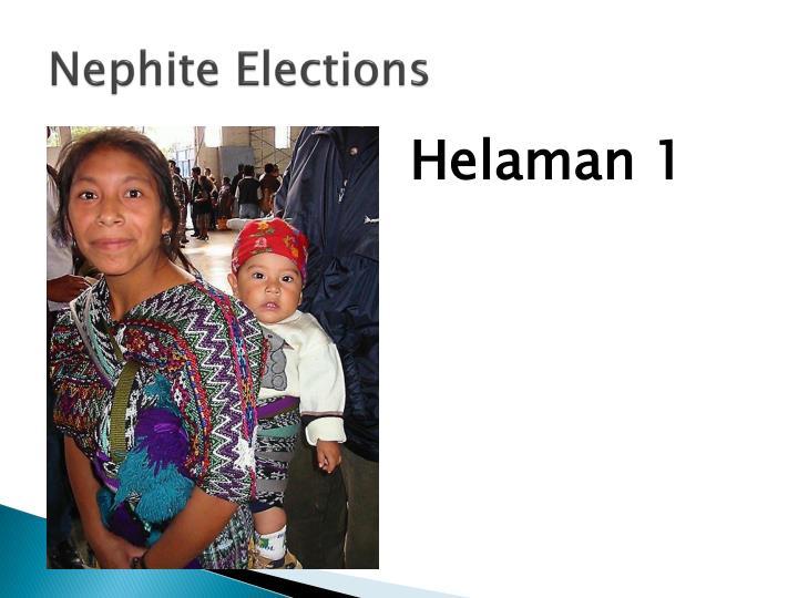 Nephite elections