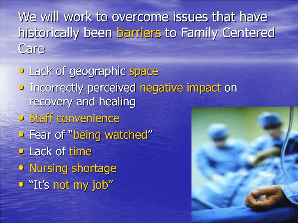 We will work to overcome issues that have historically been