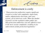 enforcement is costly