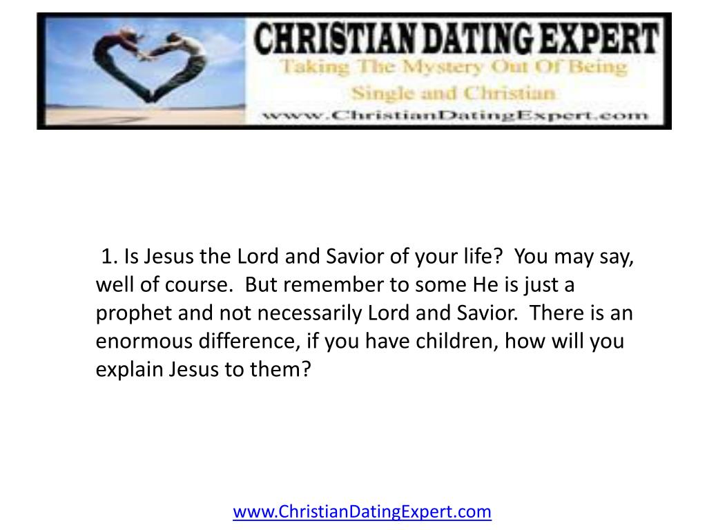 1. Is Jesus the Lord and Savior of your life?  You may say, well of course.  But remember to some He is just a prophet and not necessarily Lord and Savior.  There is an enormous difference, if you have children, how will you explain Jesus to them?