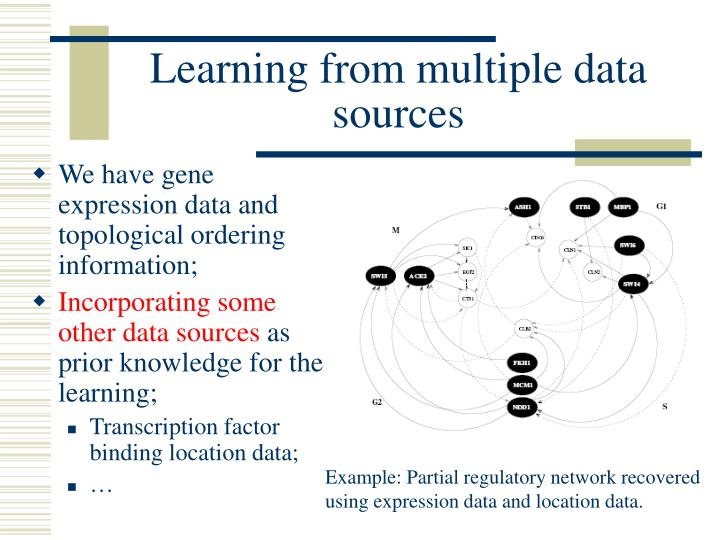 Learning from multiple data sources