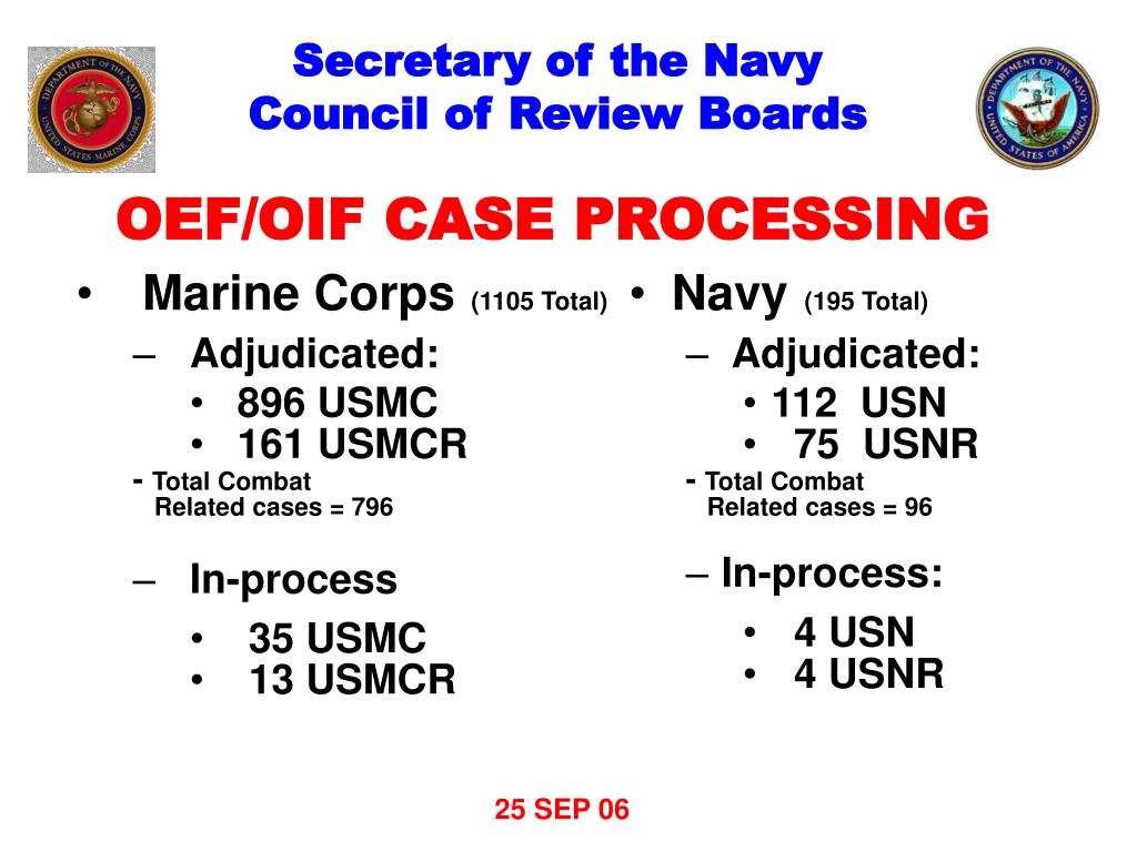 PPT - Department of the Navy Disability Evaluation System