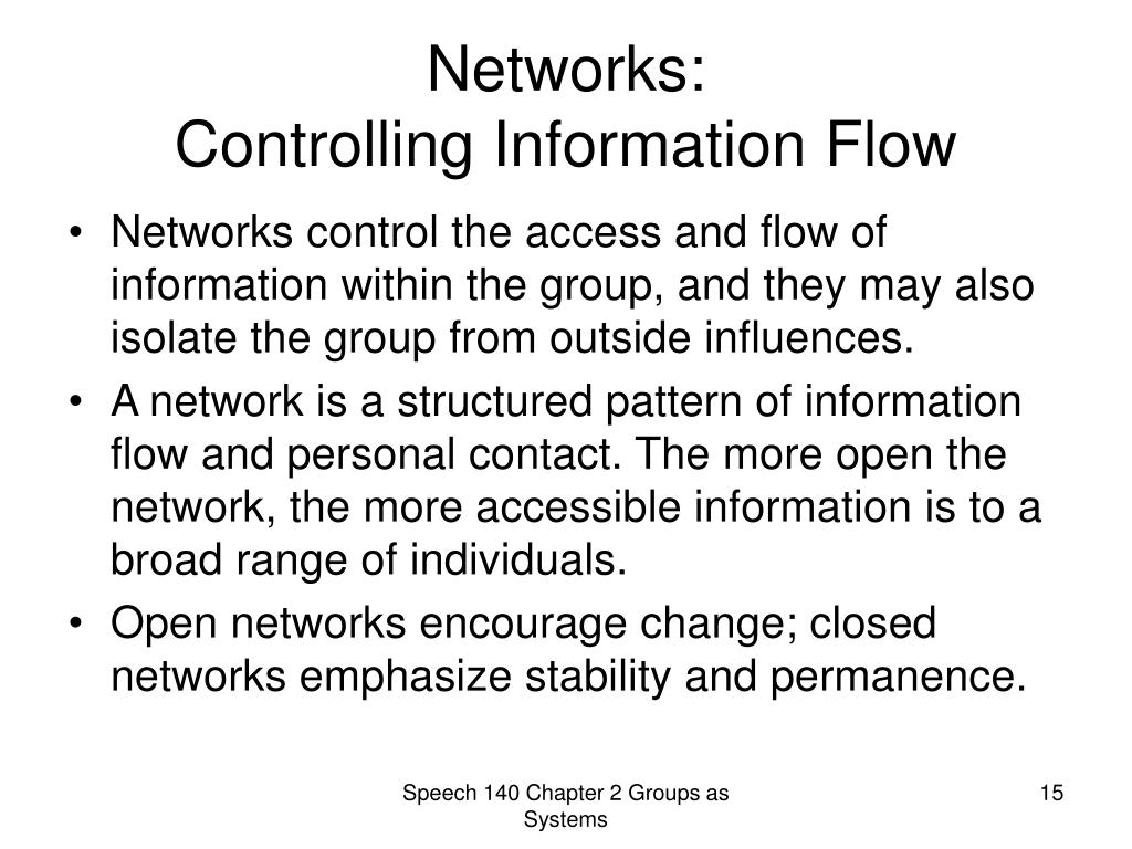 Networks:
