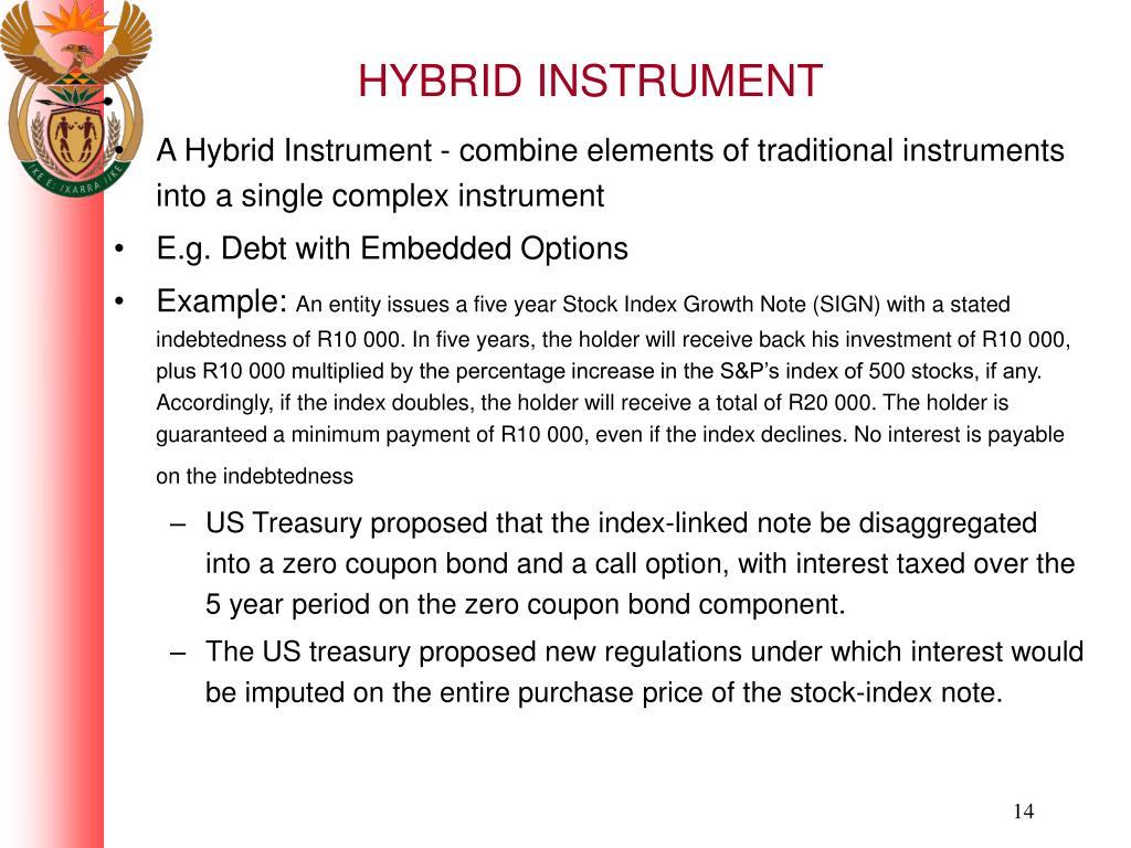HYBRID INSTRUMENT
