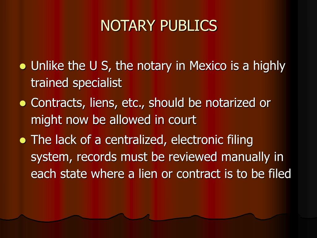 NOTARY PUBLICS
