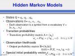 hidden markov models34