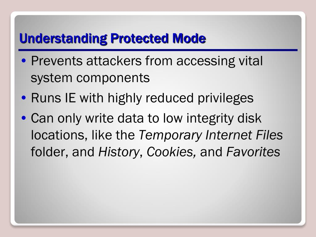 Understanding Protected Mode