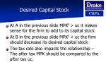desired capital stock13