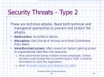 security threats type 2