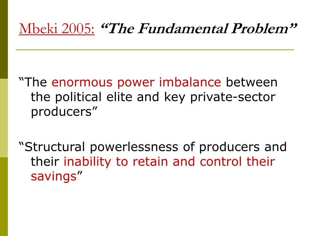 Mbeki 2005: