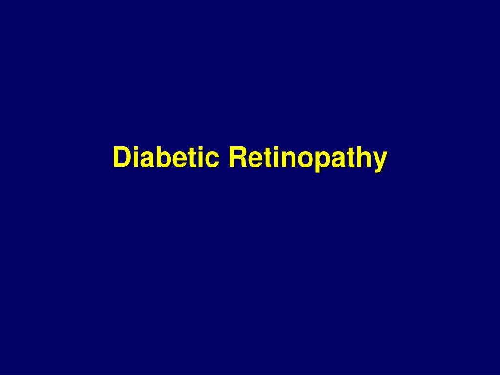 diabetic retinopathy l.