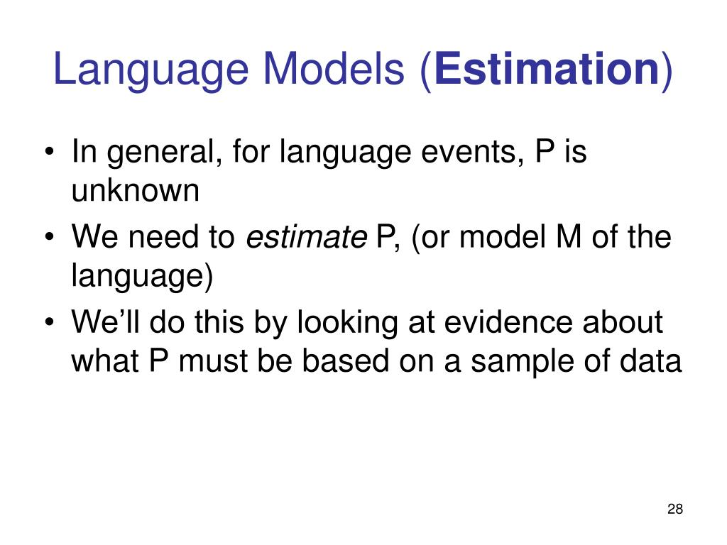 Language Models (