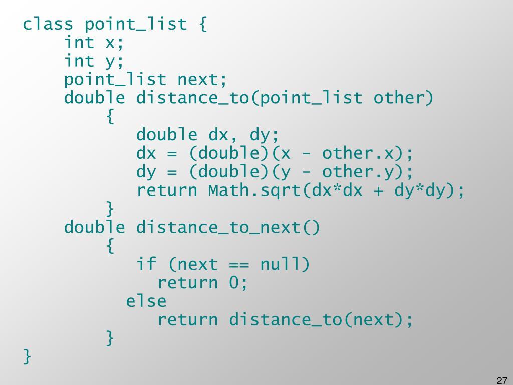 class point_list {