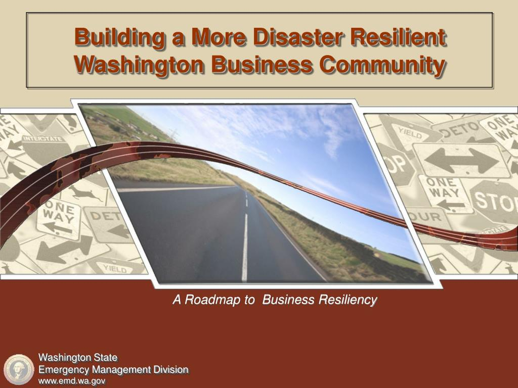Building a More Disaster Resilient Washington Business Community