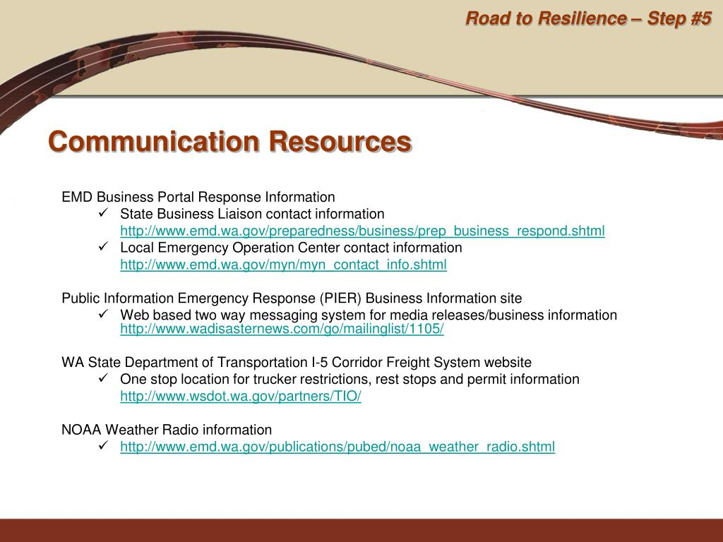 EMD Business Portal Response Information