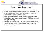 lessons learned21