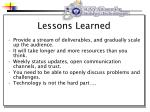 lessons learned26