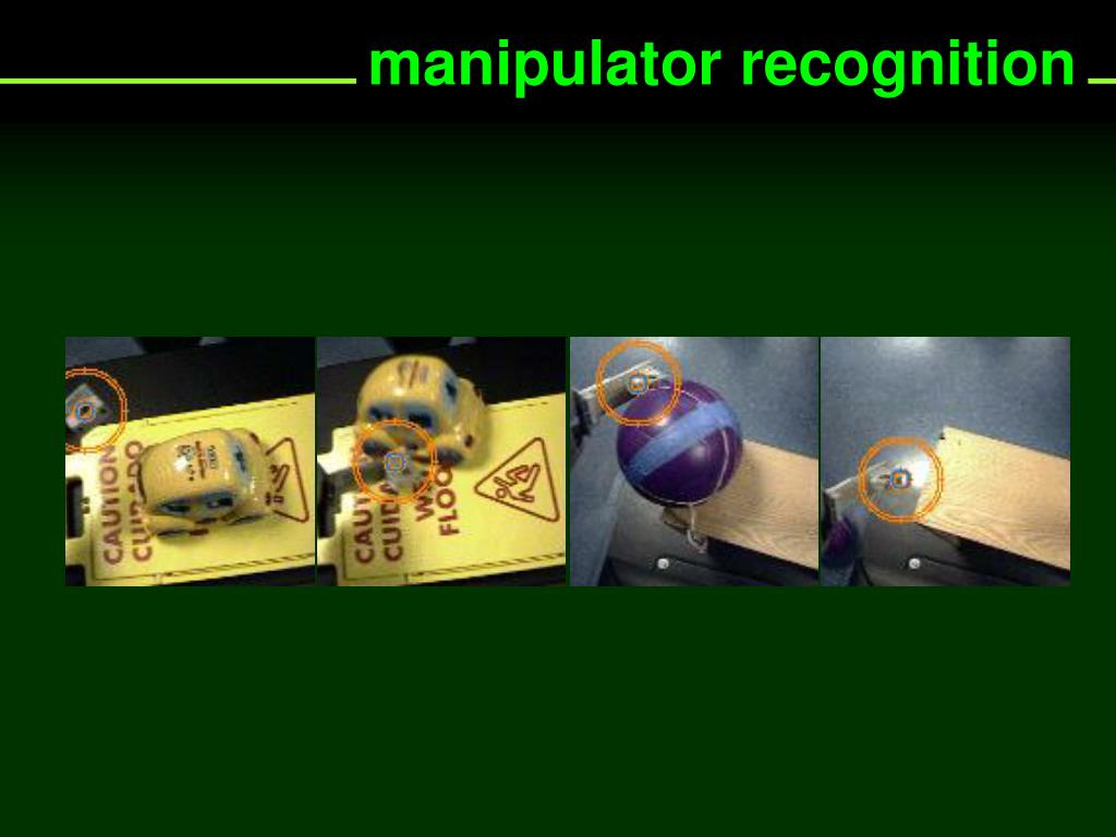 manipulator recognition