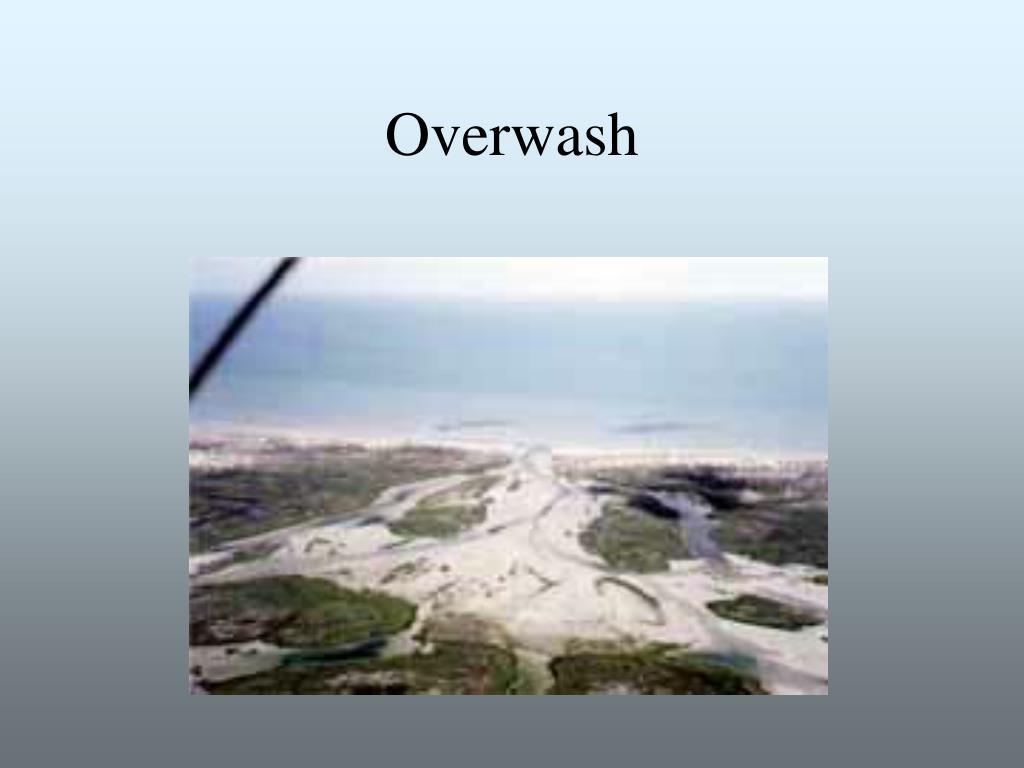 Overwash