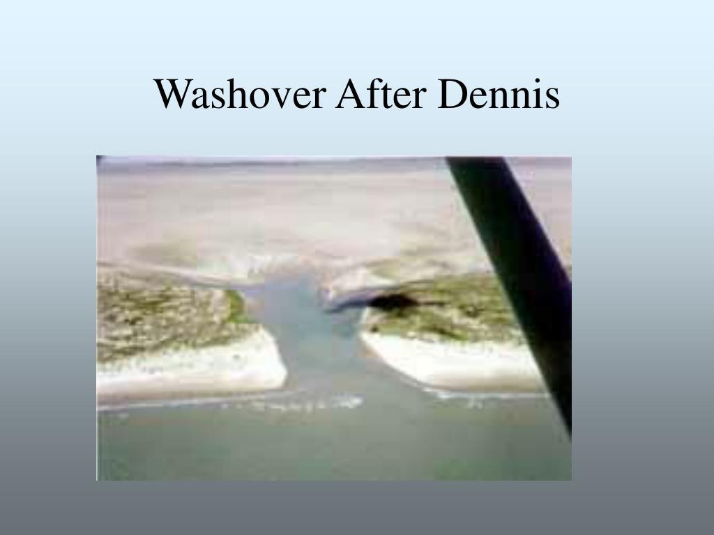 Washover After Dennis