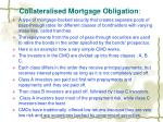 collateralised mortgage obligation