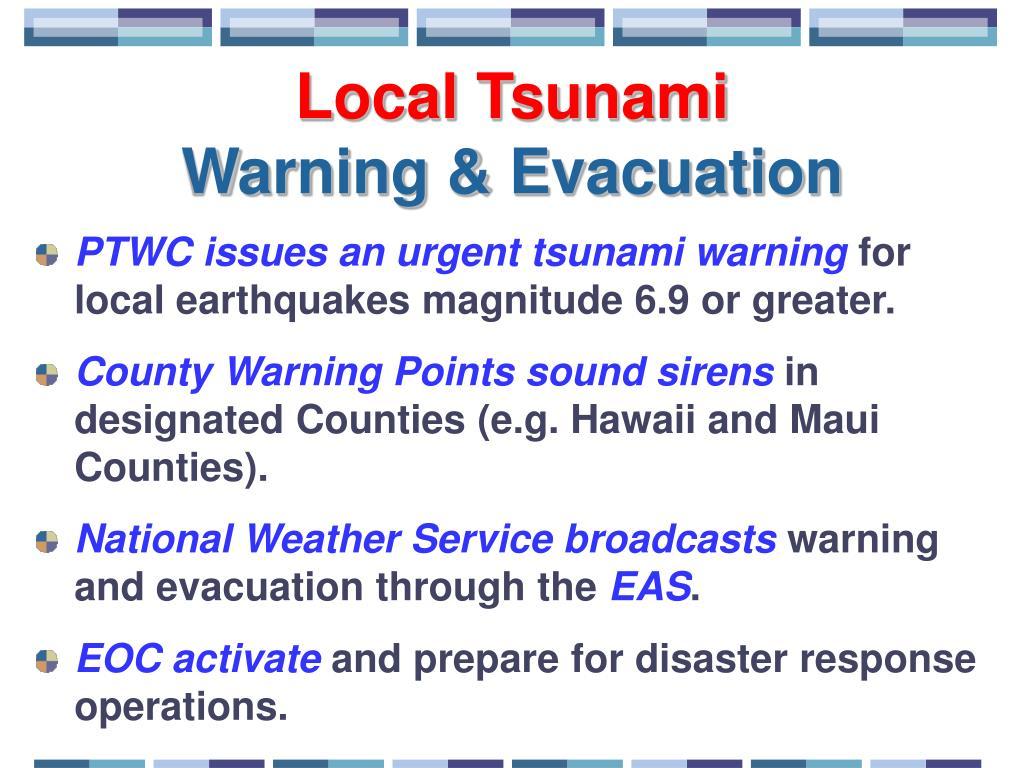 Local Tsunami