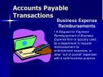 accounts payable transactions46
