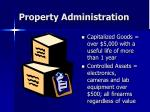 property administration40