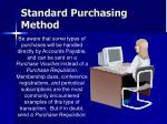 standard purchasing method29