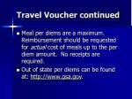 travel voucher continued81