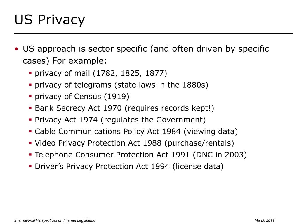US Privacy