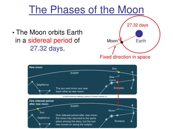 The phases of the moon3