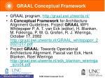 graal conceptual framework
