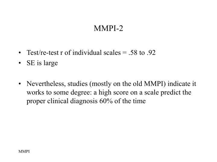 description of the minnesota multiphasic personality inventory Variety of valid personality descriptions than (minnesota multiphasic personality inventory-2 a multiphasic personality schedule (minnesota):.