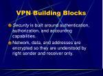 vpn building blocks