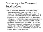 dunhunag the thousand buddha cave