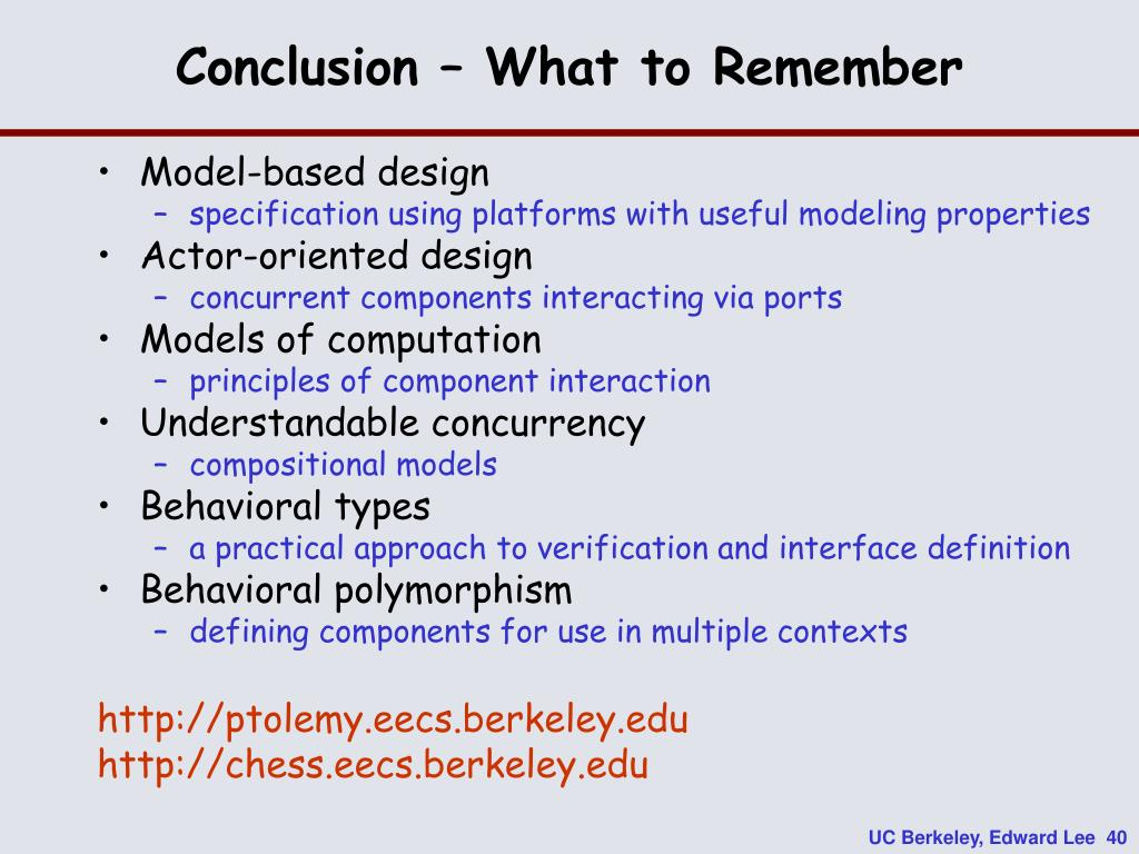 Conclusion – What to Remember