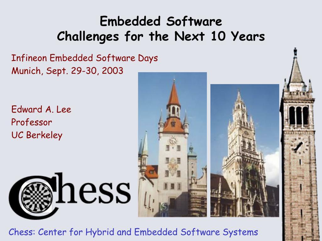 Infineon Embedded Software Days