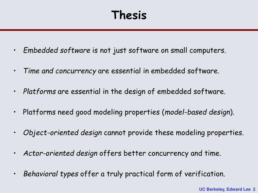 Thesis
