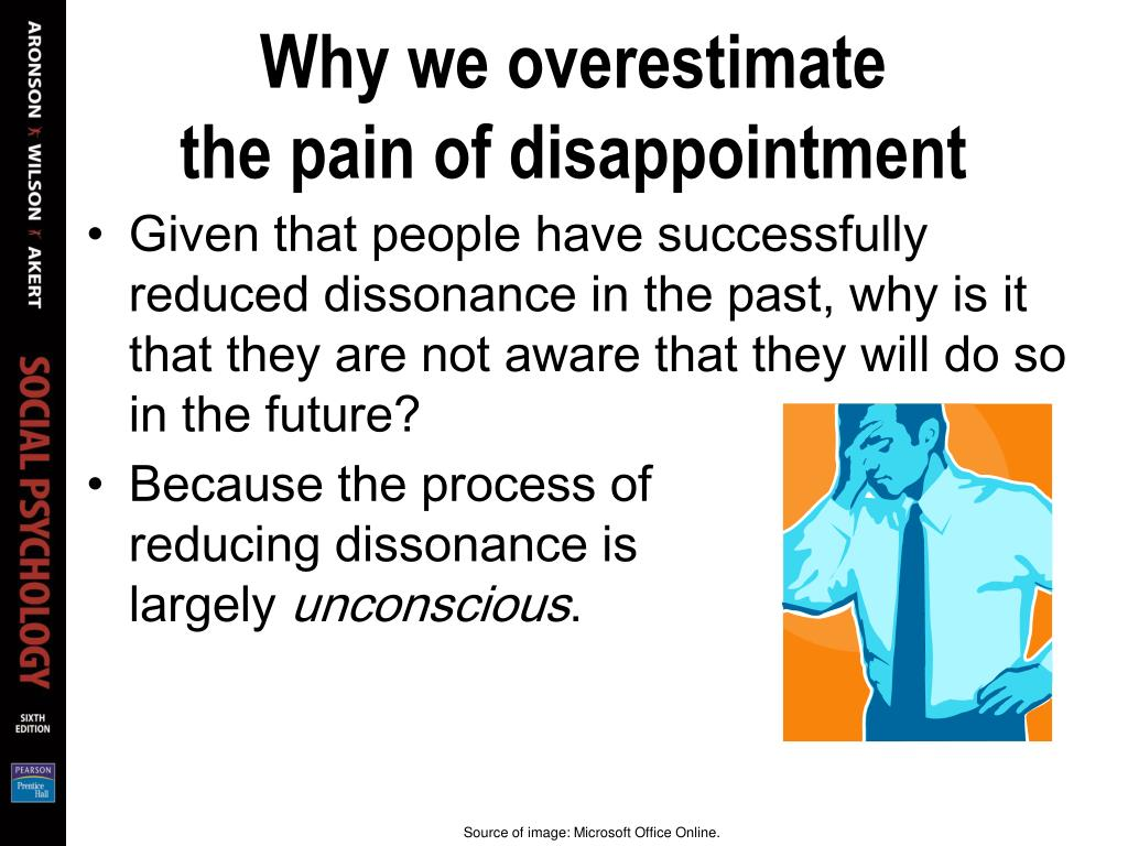 Why we overestimate