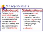 nlp approaches 1