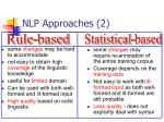 nlp approaches 2