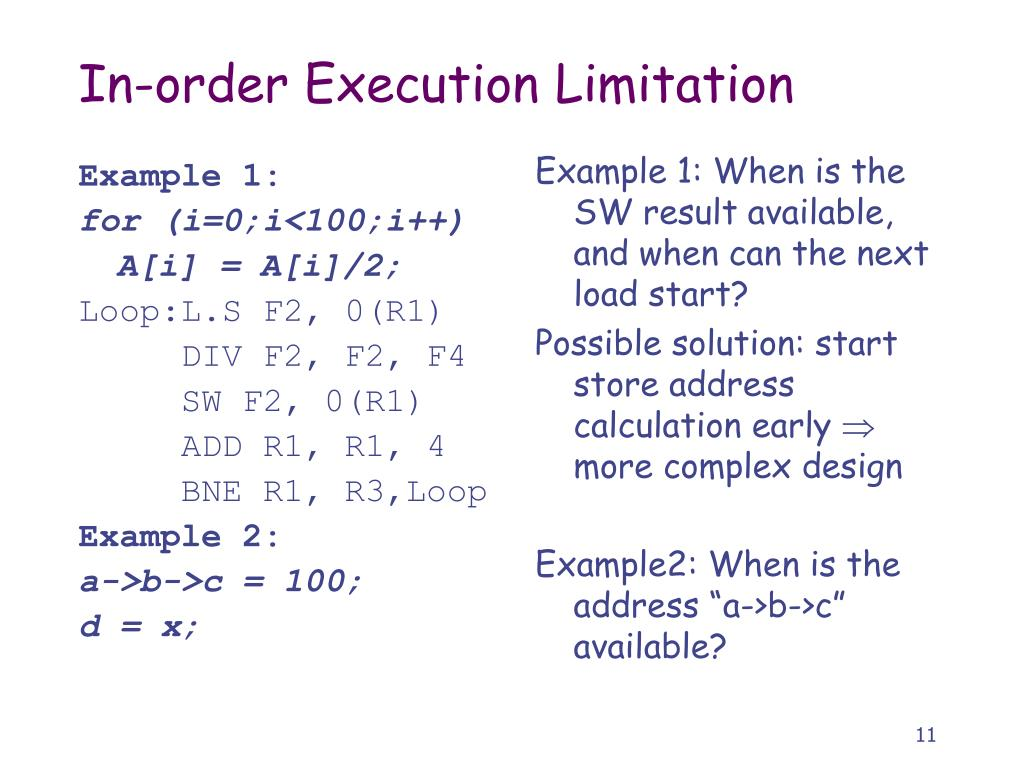 Example 1: When is the SW result available, and when can the next load start?